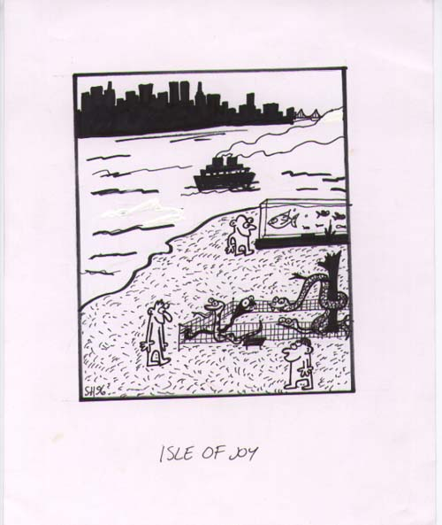 """Isle of Joy"" is copyright ©2008 by Sam Henderson.  All rights reserved.  Reproduction prohibited."