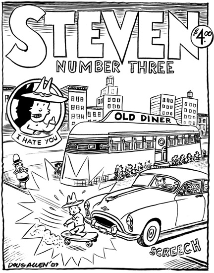"""Steven #3"" is copyright ©2008 by Doug Allen.  All rights reserved.  Reproduction prohibited."