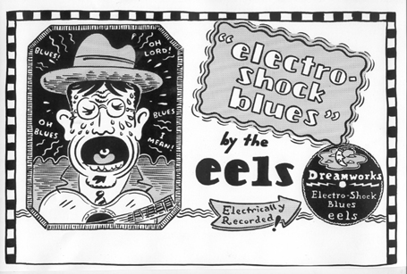 """EELS - Screaming Blueshead"" is copyright ©2008 by Tony Mostrom.  All rights reserved.  Reproduction prohibited."