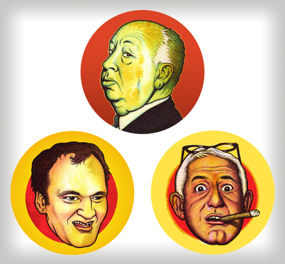 """Film Directors buttons"" is copyright ©2008 by J.R. Williams.  All rights reserved.  Reproduction prohibited."