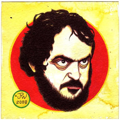 """Stanley Kubrick"" is copyright ©2008 by J.R. Williams.  All rights reserved.  Reproduction prohibited."