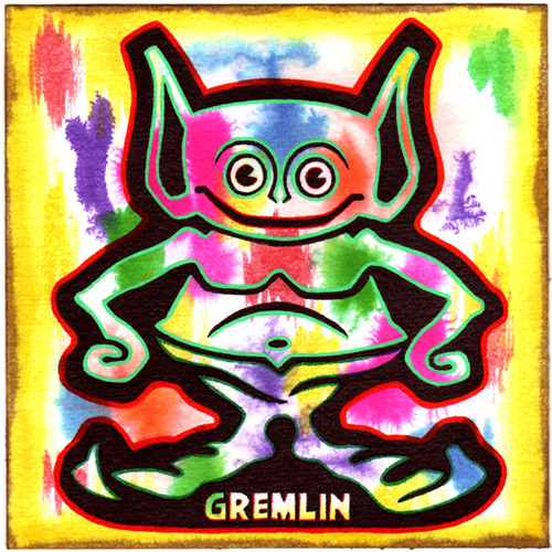 """Gremlin"" is copyright ©2008 by J.R. Williams.  All rights reserved.  Reproduction prohibited."