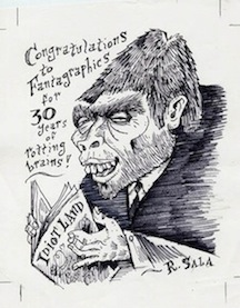 """Mr. Hyde Fantagraphics Sketch"" is copyright ©2008 by Richard Sala.  All rights reserved.  Reproduction prohibited."