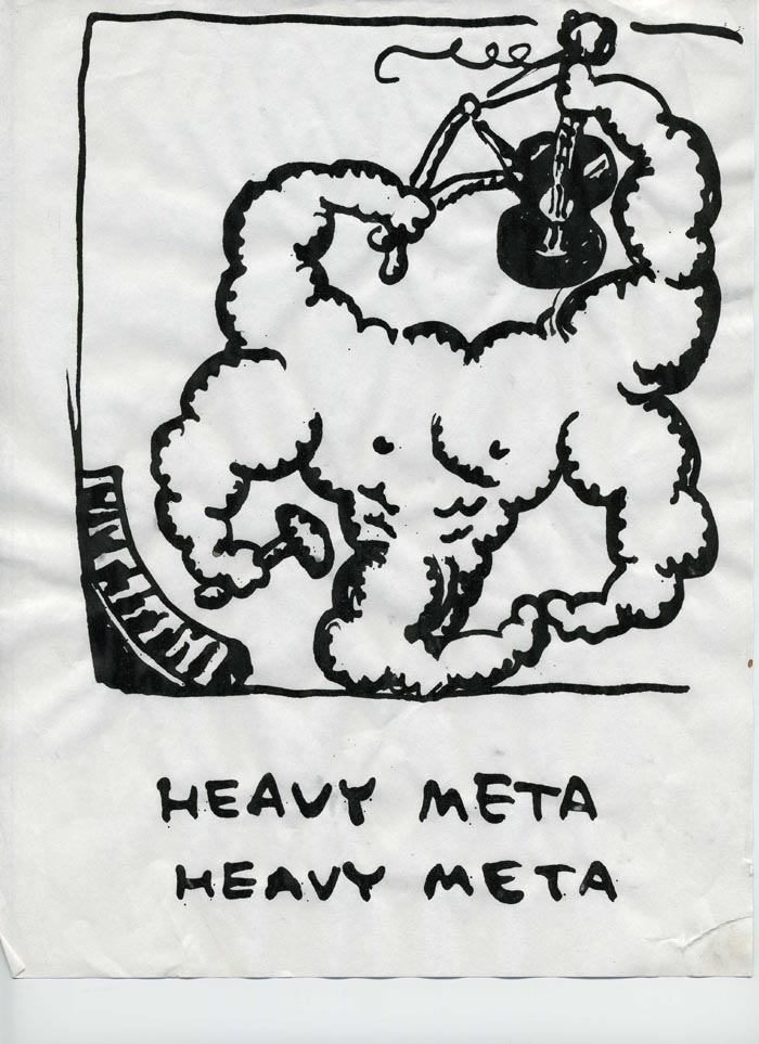 """Henry Kaiser's HEAVY META (#2)"" is copyright ©2008 by Tony Mostrom.  All rights reserved.  Reproduction prohibited."
