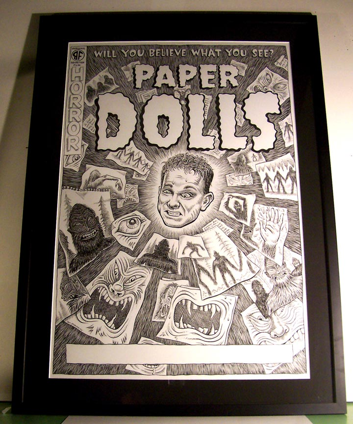 """Paper Dolls"" is copyright ©2008 by Pat Moriarity.  All rights reserved.  Reproduction prohibited."
