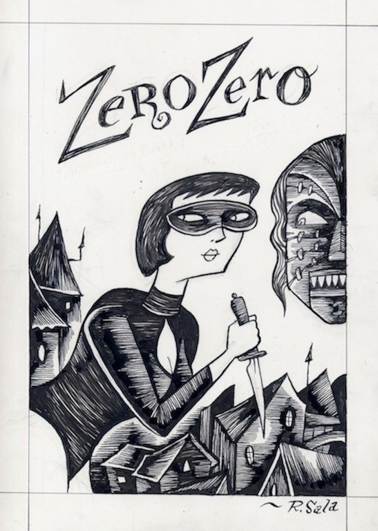 """Zero Zero Line Art 2"" is copyright ©2008 by Richard Sala.  All rights reserved.  Reproduction prohibited."