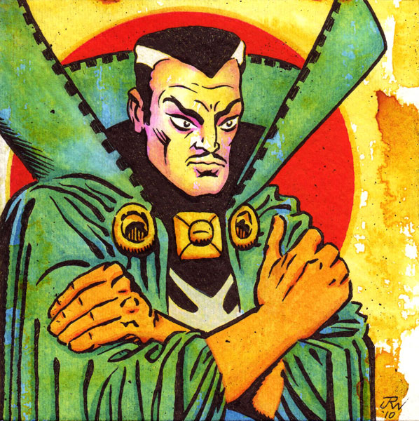 """Dr. Strange"" is copyright ©2008 by J.R. Williams.  All rights reserved.  Reproduction prohibited."