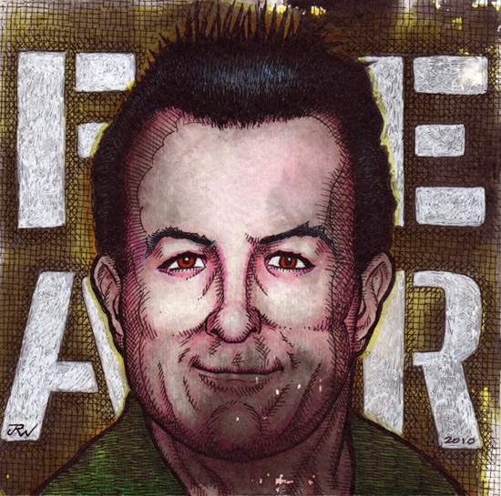 """Lee Ving - FEAR"" is copyright ©2008 by J.R. Williams.  All rights reserved.  Reproduction prohibited."