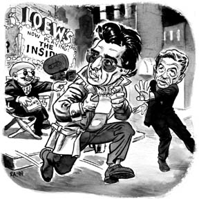 """'The Insider' illo"" is copyright ©2008 by Rick Altergott.  All rights reserved.  Reproduction prohibited."