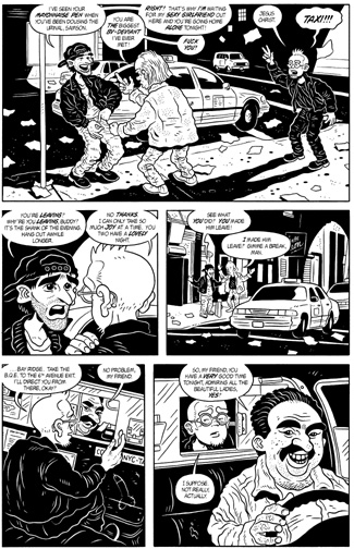 """MW #8, page 6"" is copyright ©2008 by Bob Fingerman.  All rights reserved.  Reproduction prohibited."
