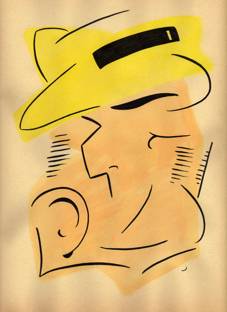"""ABSTRACT DICK TRACY"" is copyright ©2008 by Jeremy Eaton.  All rights reserved.  Reproduction prohibited."