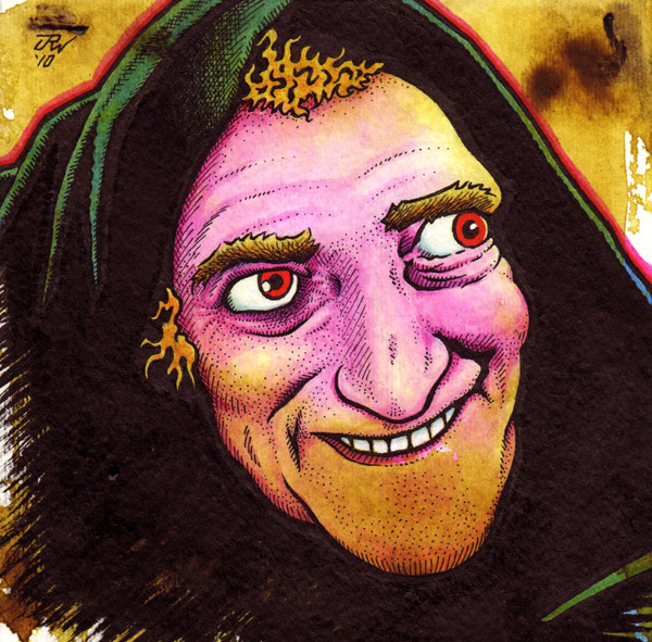 """Igor (Marty Feldman)"" is copyright ©2008 by J.R. Williams.  All rights reserved.  Reproduction prohibited."