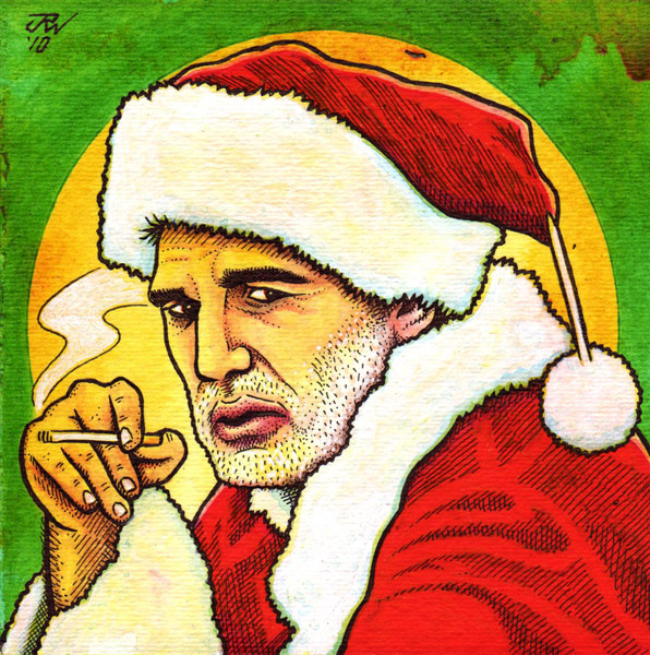 """Bad Santa"" is copyright ©2008 by J.R. Williams.  All rights reserved.  Reproduction prohibited."