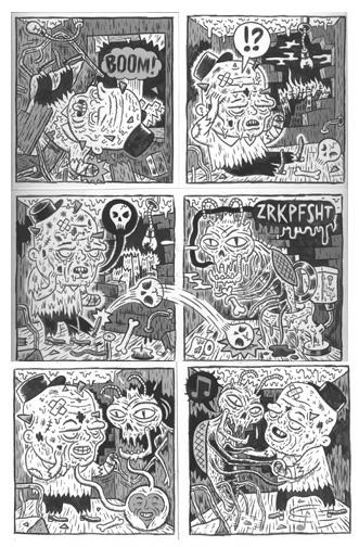 """'Crokk Mort' page 4"" is copyright ©2008 by  Mats!?.  All rights reserved.  Reproduction prohibited."