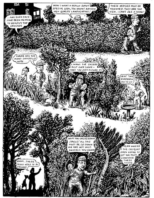 """Fuzz & Pluck chapter 2, page 4"" is copyright ©2008 by Ted Stearn.  All rights reserved.  Reproduction prohibited."