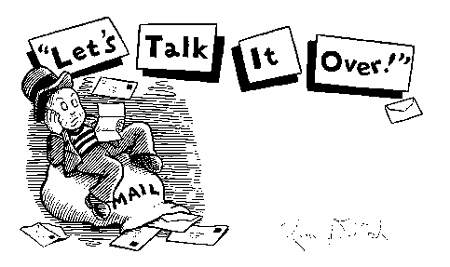 """Let's Talk It Over (from 'Dugan Underground')"" is copyright ©2008 by Kim Deitch.  All rights reserved.  Reproduction prohibited."