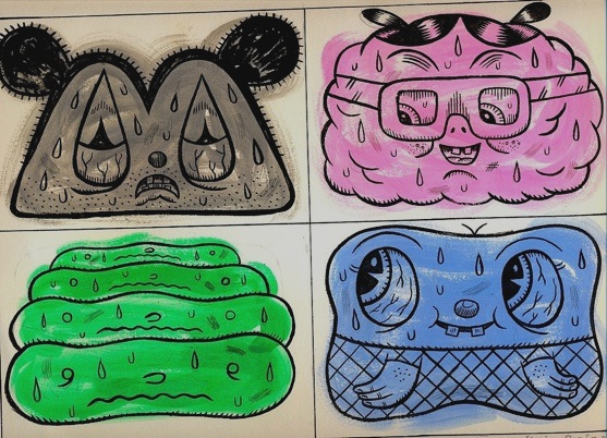 """4 Oddballs"" is copyright ©2008 by Kevin Scalzo.  All rights reserved.  Reproduction prohibited."