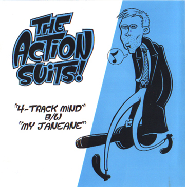 """Action Suits 7-inch - Art by Bagge/Reynolds"" is copyright ©2008 by Eric Reynolds.  All rights reserved.  Reproduction prohibited."