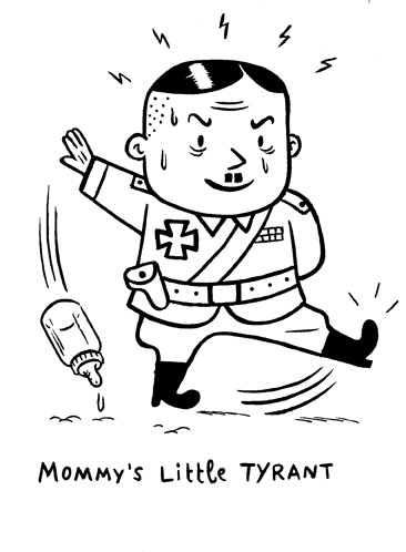 """Mommy's Li'l Tyrant..."" is copyright ©2008 by  Mats!?.  All rights reserved.  Reproduction prohibited."