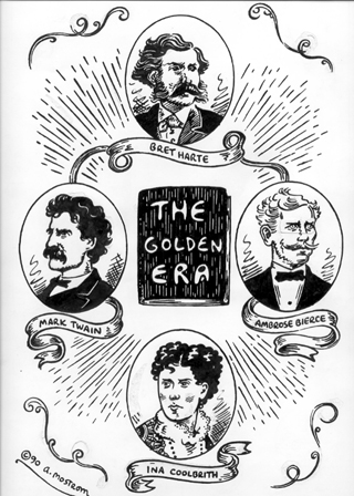 """Ambrose Bierce, Mark Twain & others..."" is copyright ©2008 by Tony Mostrom.  All rights reserved.  Reproduction prohibited."