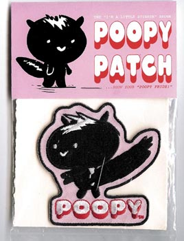 """POOPY patch"" is copyright ©2008 by Steven Weissman.  All rights reserved.  Reproduction prohibited."
