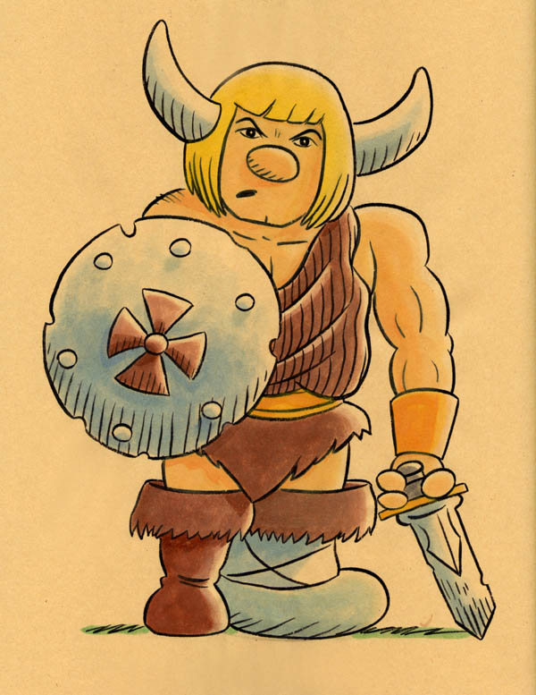 """CARTOON JUMBLE! HE-MAN & HAGAR THE HORRIBLE"" is copyright ©2008 by Jeremy Eaton.  All rights reserved.  Reproduction prohibited."