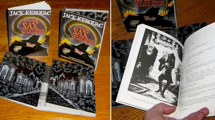 """Doctor Sax - Signed Book"" is copyright ©2008 by Richard Sala.  All rights reserved.  Reproduction prohibited."