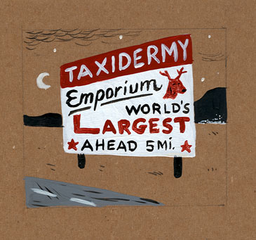 """Taxidermy Emporium"" is copyright ©2008 by  Mats!?.  All rights reserved.  Reproduction prohibited."