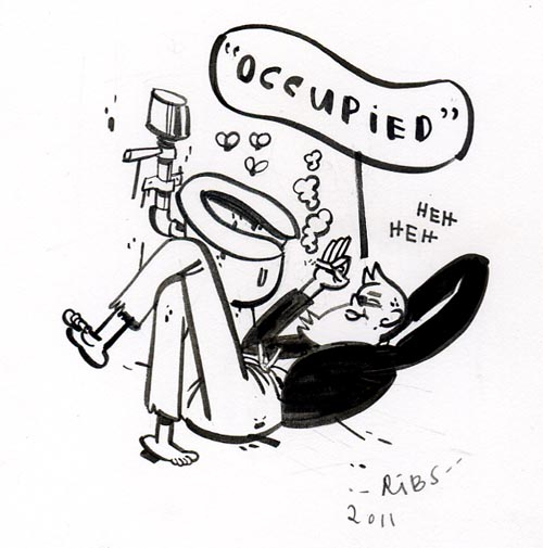 """OCCUPIED"" is copyright ©2008 by Steven Weissman.  All rights reserved.  Reproduction prohibited."