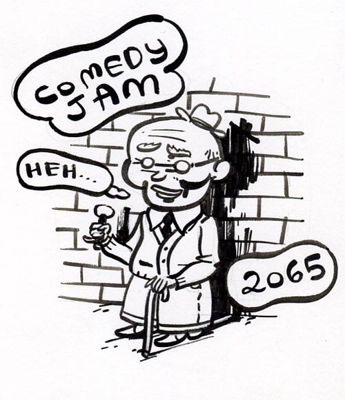 """Comedy Jam 2065"" is copyright ©2008 by Steven Weissman.  All rights reserved.  Reproduction prohibited."