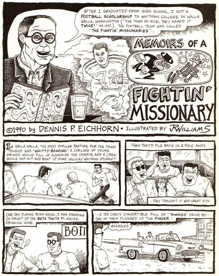 """Memoirs of a Fightin' Missionary"" is copyright ©2008 by J.R. Williams.  All rights reserved.  Reproduction prohibited."